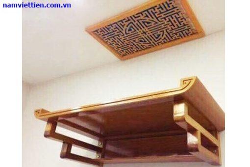 Mẫu bàn thờ treo tường đẹp HCM