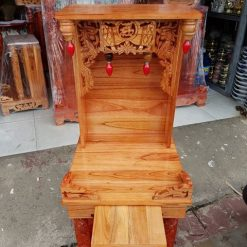 1 40 247x247 - Mẫu bàn thờ thần tài gỗ xoan