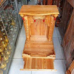 3 1 247x247 - Bàn thờ ông địa gỗ xoan đào cao cấp