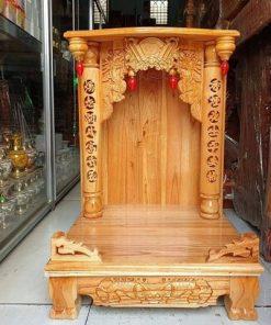 5 9 1 247x296 - Bàn thờ ông địa gỗ xoan đào cao cấp